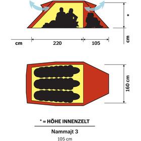 Hilleberg Nammatj 3 Tiendas de campaña, red